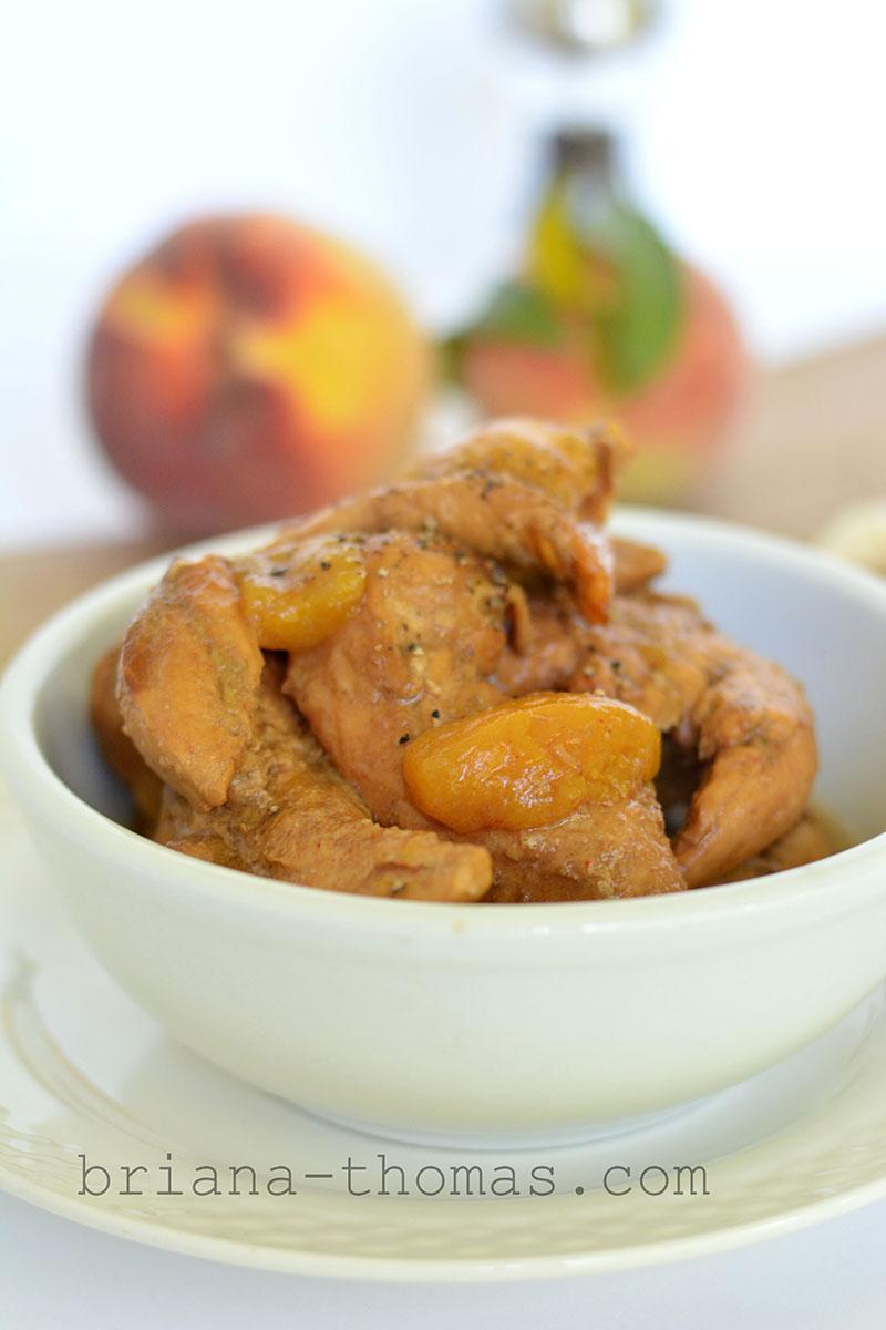 recipe: easy peach chicken recipe [35]