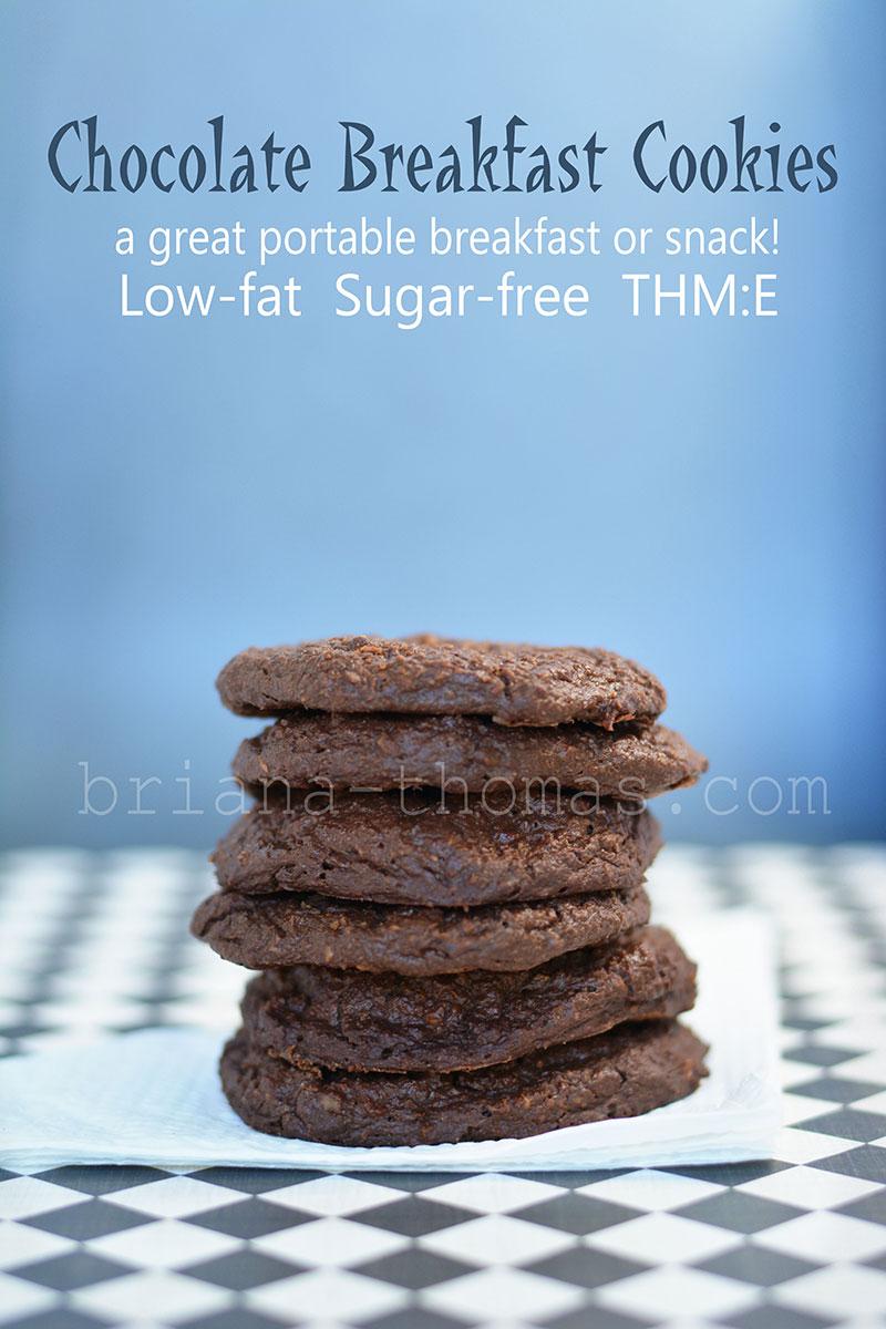 Chocolate Breakfast Cookies - Briana Thomas