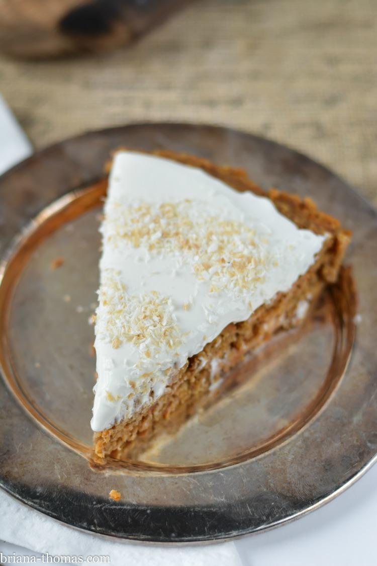 Briana Thomas Carrot Cake