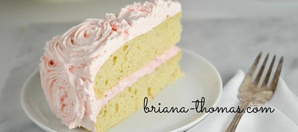 Basic White Cake - Briana Thomas