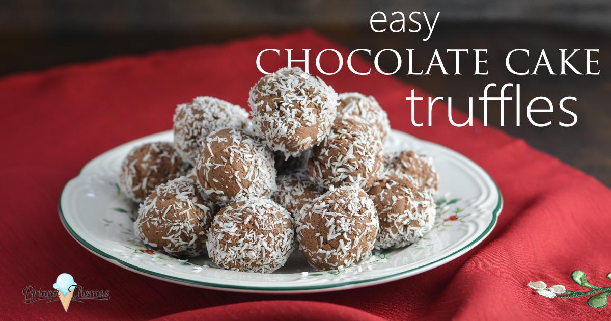 Silky Chocolate Truffle Cake Recipe